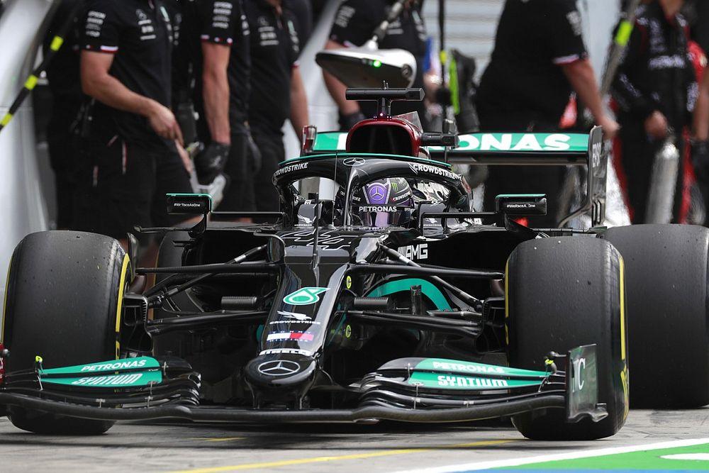 ¡Mercedes estudia cambiar motor en Monza y penalizar!