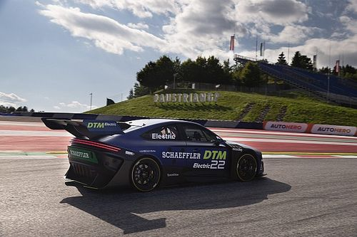How the DTM's remote electric prototype demo was done