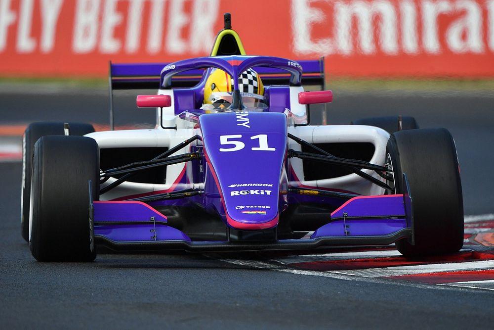 Сидоркова – в шаге от подиума на гонке W Series в Венгрии