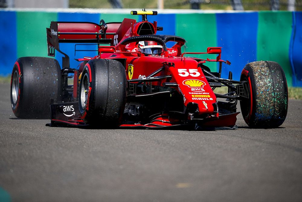 Ferrari lleva 2,5 millones de euros en daños en 2021