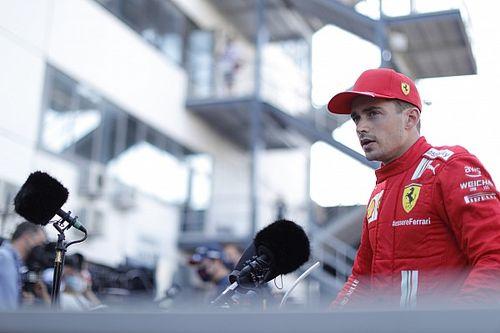 """Leclerc a Stroll: """"Pasar a cinco coches en la salida era poco realista"""""""