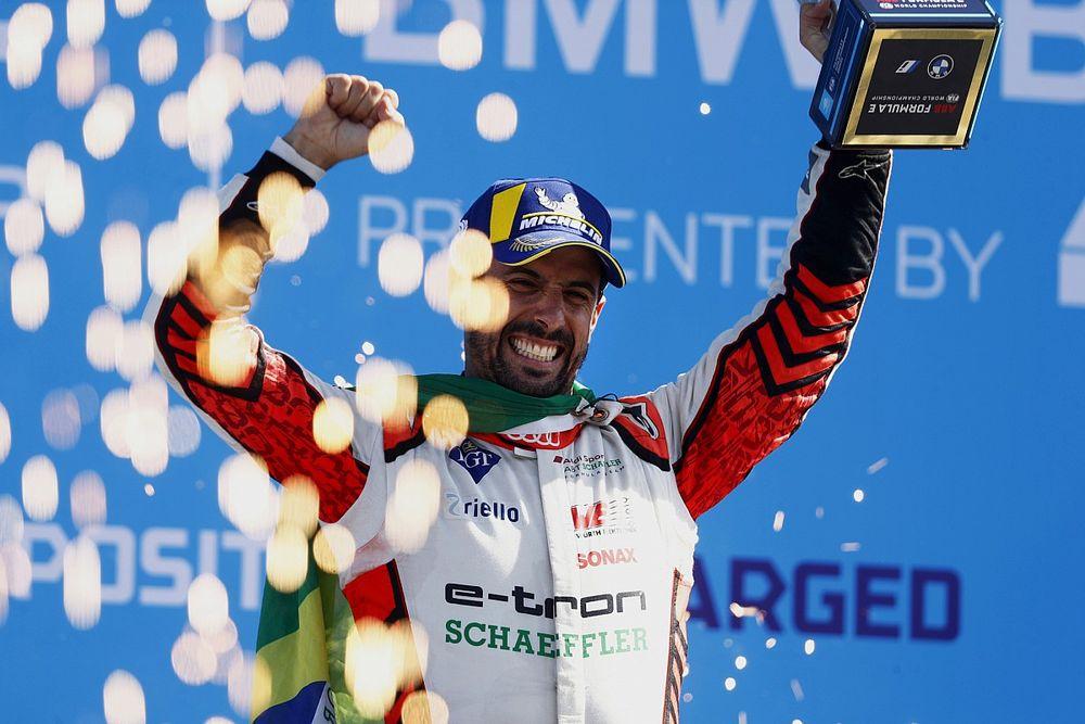 Di Grassi gana en Berlín y se suma a la disputa por el título