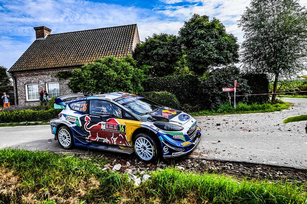 WRC Belgium: M-Sport confirms Fourmaux Rally Ypres retirement