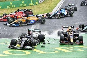 بوتاس يتلقّى عقوبة على شبكة انطلاق سباق بلجيكا لقاء حادث المجر