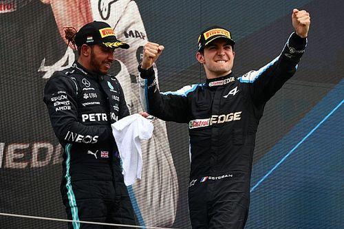Ricciardo ravi de voir Ocon s'imposer devant Hamilton