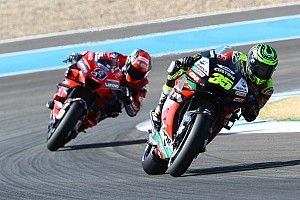 Crutchlow, Rins to attempt to race in Andalusian GP