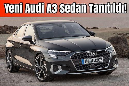 Yeni Audi A3 Sedan Tanıtıldı! | A3'ün Patron Versiyonu | İlk Bakış