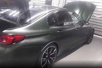Videó: Kiszivárgott egy felvétel az álcázatlan BMW M5 CS-ről