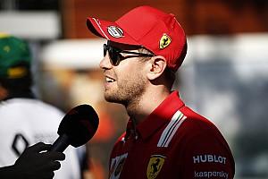 """Vettel: """"Bu spor benim hayatım, sporun rolü de hayatıma dahil"""""""