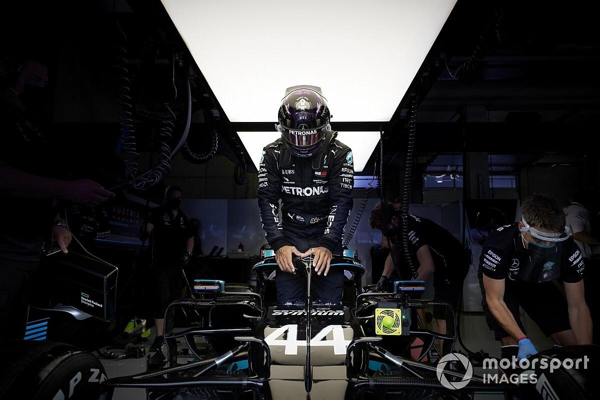 Hamilton pénalisé sur la grille du GP d'Autriche !