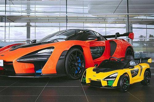 Un regalo especial: McLaren Senna correpasillos