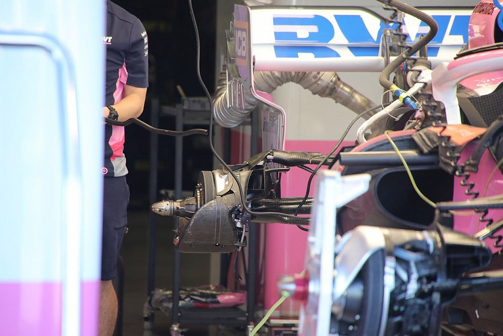 Racing Point explique la livraison d'écopes Mercedes début 2020