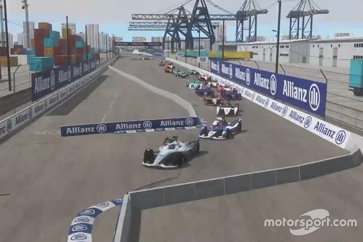 Gunther vuelve a ganar tras otro fallo de Vandoorne en la Fórmula E virtual