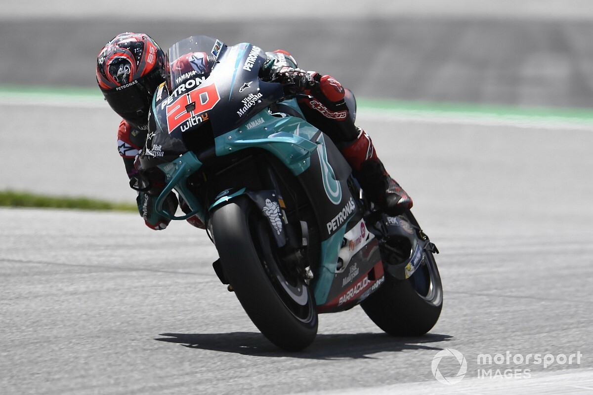 Motogp News Quartararo Hit By Dangerous Brake Issue