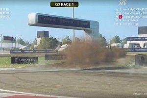 Leclerc felborult, de rögtön ment tovább: World RX Esports