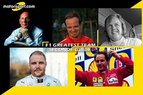 F1 greatest team: è Moss il secondo pilota