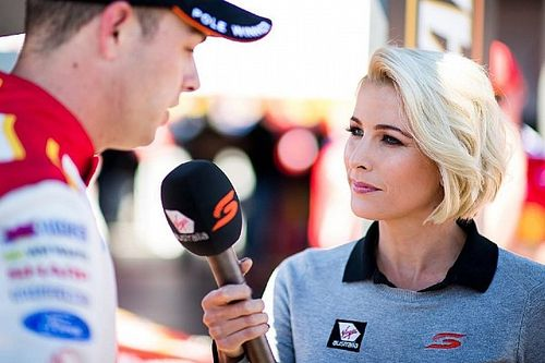 "Supercars TV presenter reflects on ""kick in the guts"""