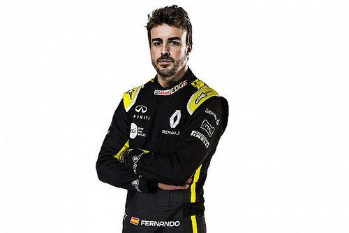 Alonso comienza a trabajar con Renault