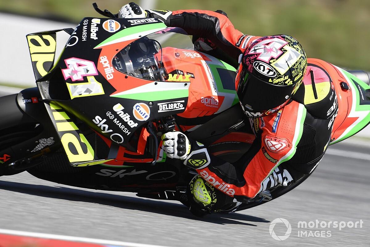 """Aleix Espargaró: """"El estado de esta pista no está al nivel de MotoGP"""""""