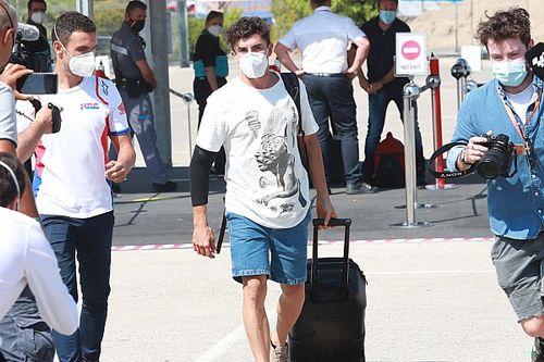 Marc Marquez va in Qatar per ricevere il vaccino anti-COVID