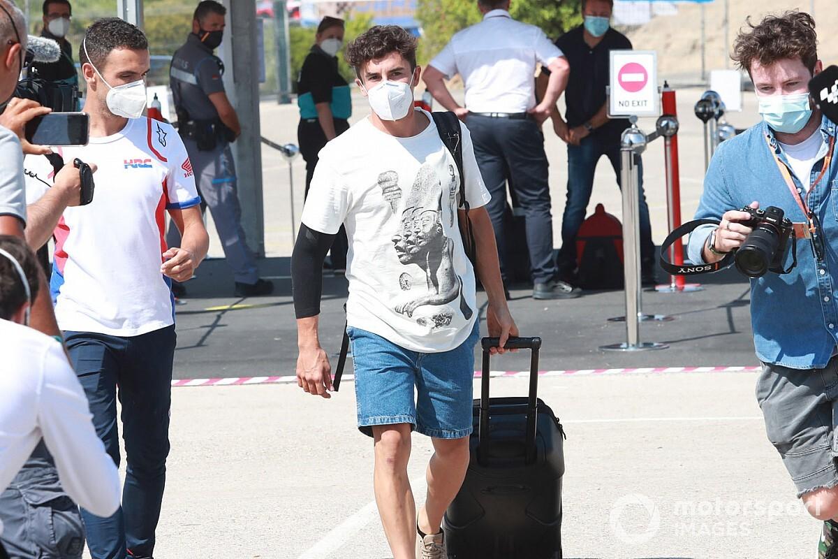 Honda: A Márquez no se le puede detener, sabe el riego que corre