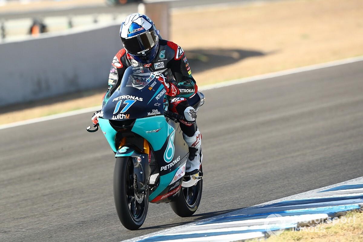Moto3, Andalusia, Libere 2: McPhee leader, insegue Migno