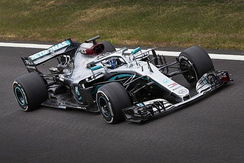 Mercedes est en piste à Silverstone avec sa F1 2018