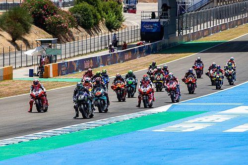 La parrilla de salida del GP de Andalucía MotoGP