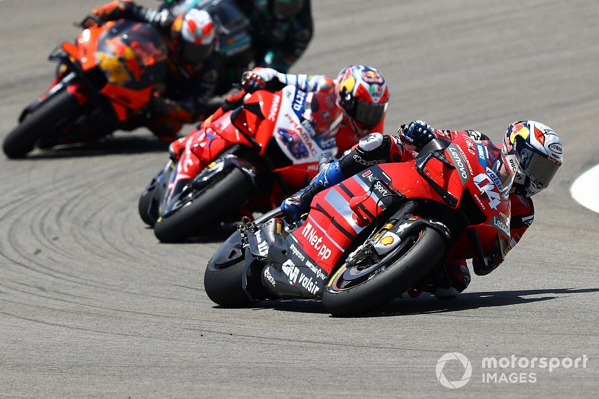 Dovizioso : un podium arraché à la force du mental