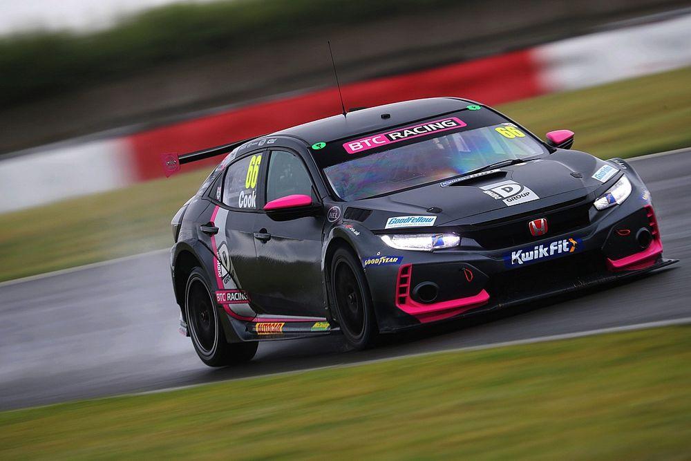 Oulton Park BTCC: Josh Cook under investigation after wet R1 win