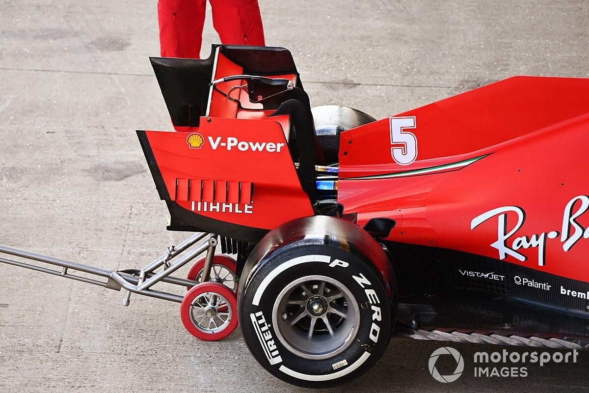 Dzień filmowy Ferrari na Silverstone