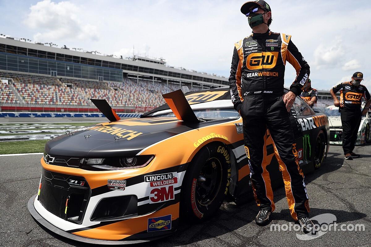 Kurt Busch na pole position