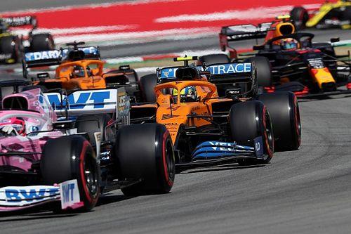 Volledige uitslag van de Grand Prix van Spanje F1