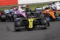 Ricciardo mindössze egy helyre volt a cipőből ivástól, és nem akarta móresre tanítani Grosjeant