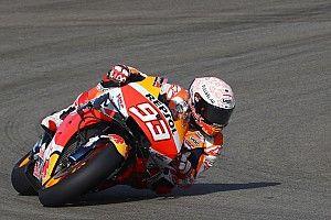 Márquez lidera un apretadísimo primer ensayo en Jerez