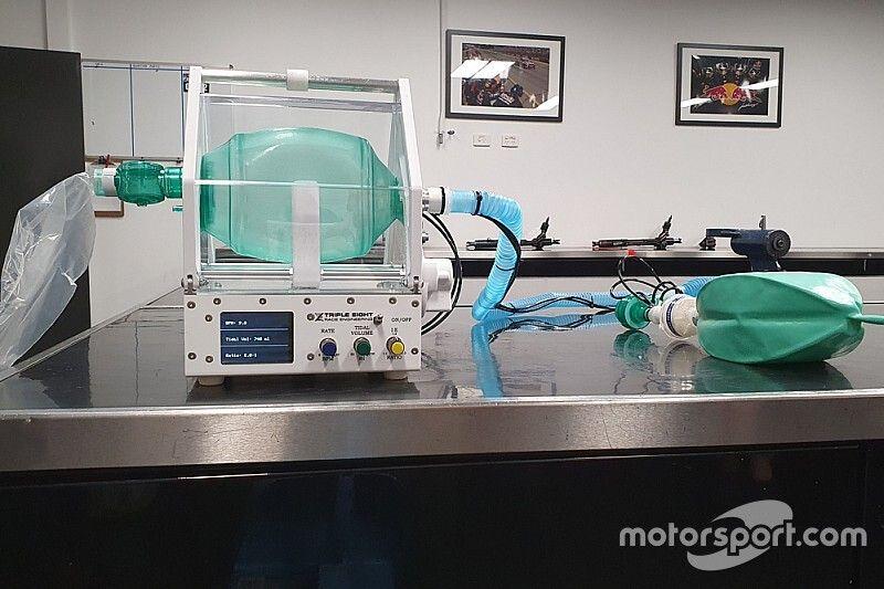 Triple Eight unveils prototype ventilator