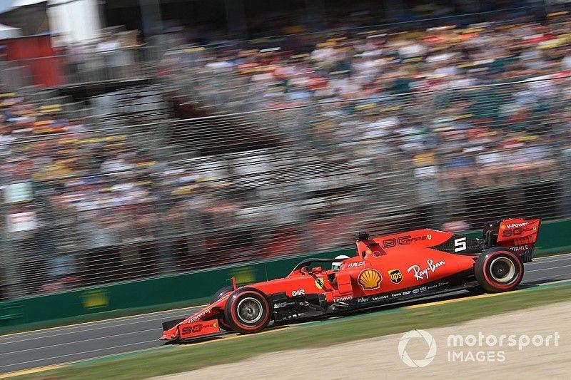 """Un sorprendido Vettel: """"Deberíamos ir mejor que lo visto"""""""