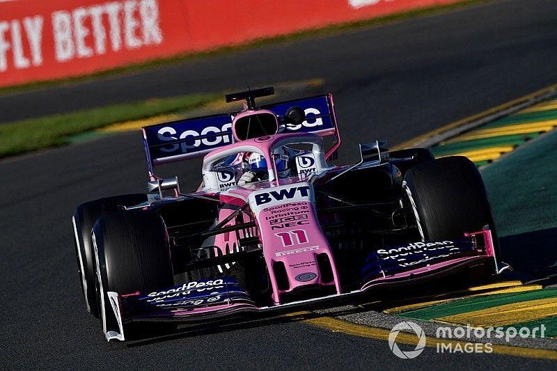 Pérez: Atualizações da Racing Point não funcionaram como esperado