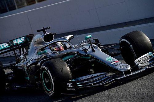 """F1: Hamilton otimista após """"um dos melhores dias"""" para a Mercedes"""