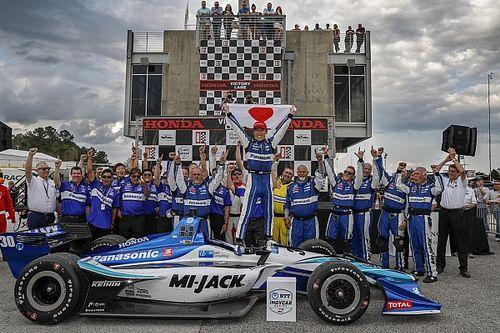 Barber IndyCar: Sato baskın bir şekilde kazandı