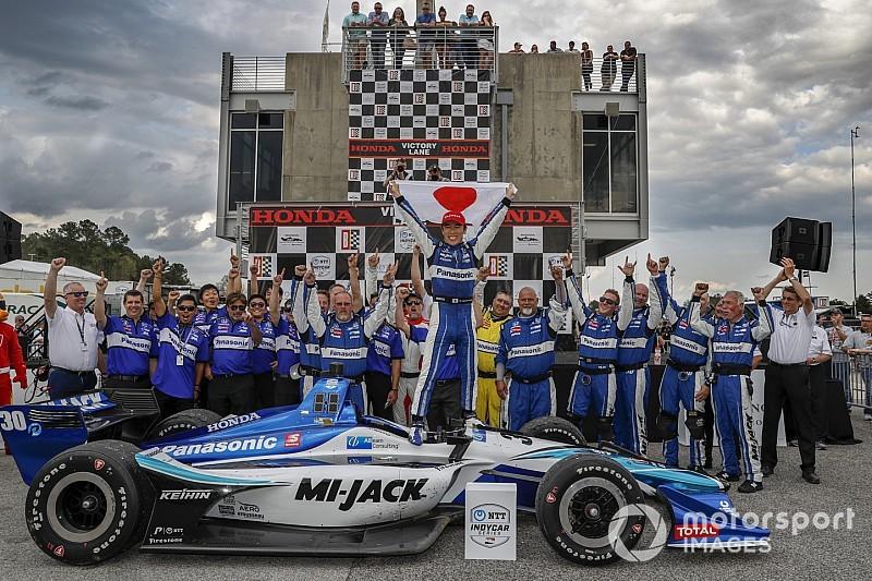 Barber IndyCar: Sato scores dominant win, beats Dixon, Bourdais