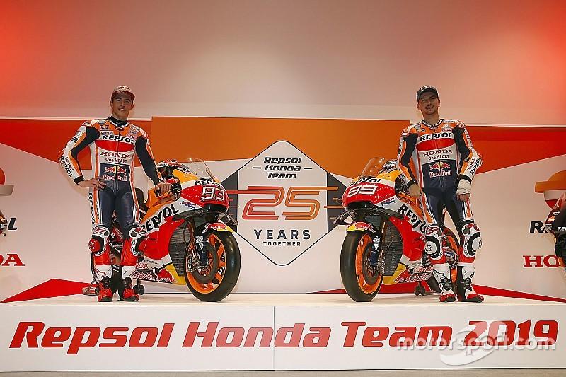 Галерея: Маркес і Лоренсо презентували заводську команду Honda сезону-2019