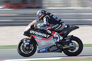 Moto2カタールGP予選:シュロッターが初ポールポジション。長島哲太は14番手