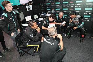 """Hamilton: """"Yo pedía una moto, pero mi padre me compró un kart"""""""