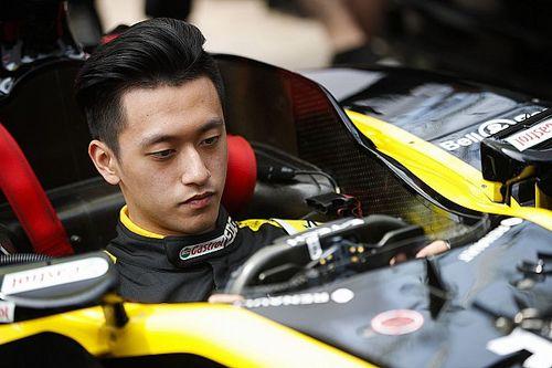 周冠宇将代表雷诺参加最后一场虚拟大奖赛