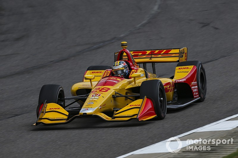 "Hunter-Reay: Barber ""one of the toughest"" tracks for car setups"