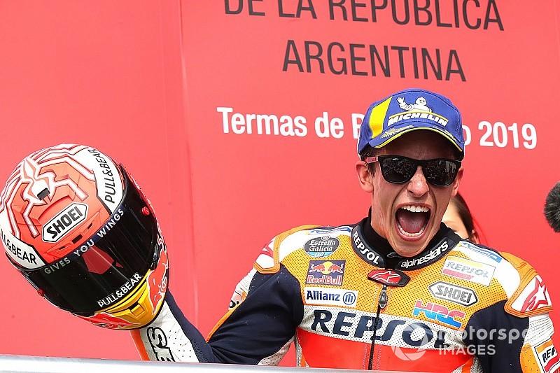 Estadísticas: la actuación de Márquez, el regreso de Rossi
