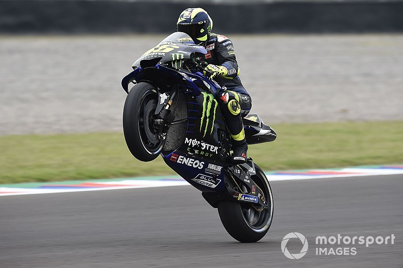 "Rossi rode ""like when I was young"" in Argentina race"