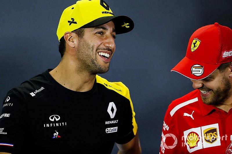 """Ricciardo: """"Senki sem várta, hogy azonnal legyőzőm Vettelt..."""""""