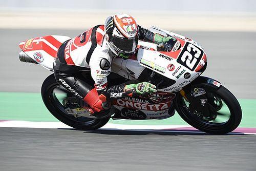 Moto3, Assen: Antonelli torna in pole position, prima fila per Arbolino